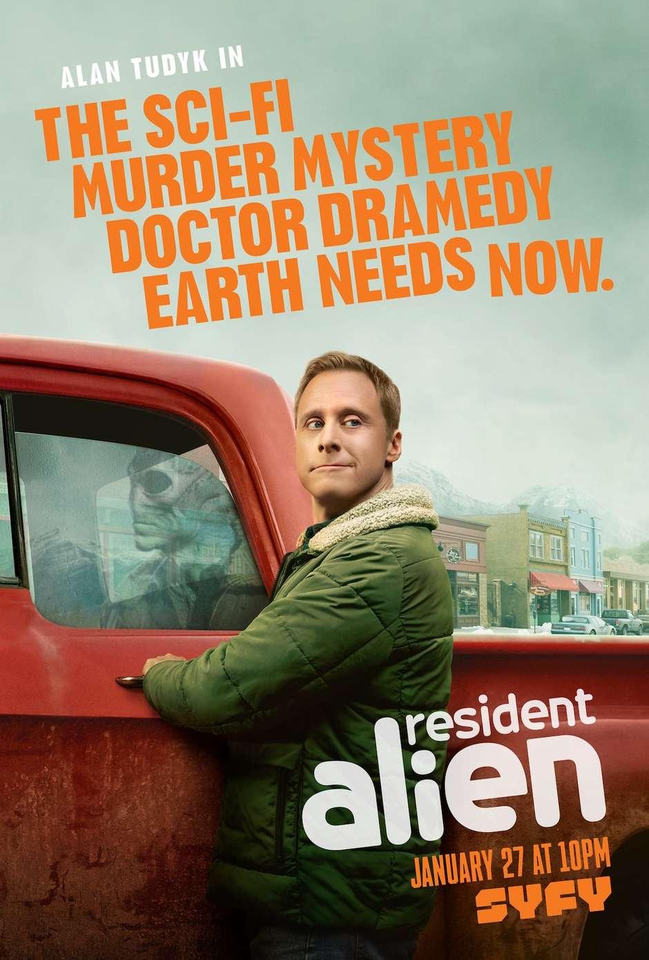 Resident Alien: Nova série baseada em quadrinhos ganha trailer completo