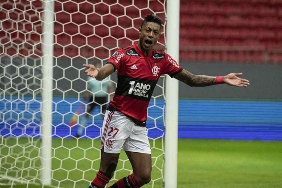 Bruno Henrique cresce em ranking de artilheiros do Flamengo no Brasileirão; confira