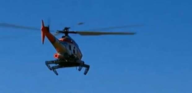 EUA projetam helicóptero com patas de inseto