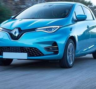Mais potente, Renault Zoe 2022 diverte ao volante