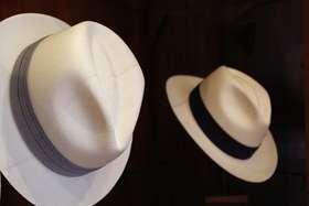 82adc713eb00e O chapéu do Panamá é feito a partir da palha toquillla
