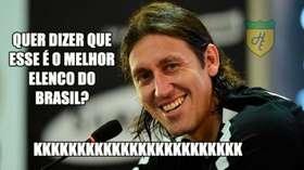 Corintianos tiram onda após vitória sobre o Palmeiras e arbitragem ... 1634fb8bc5788