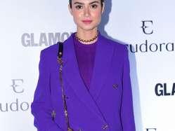 29ad7ab37 Thaila Ayala na 4ª edição do Prêmio Geração Glamour, realizado na Casa  Charlô, em