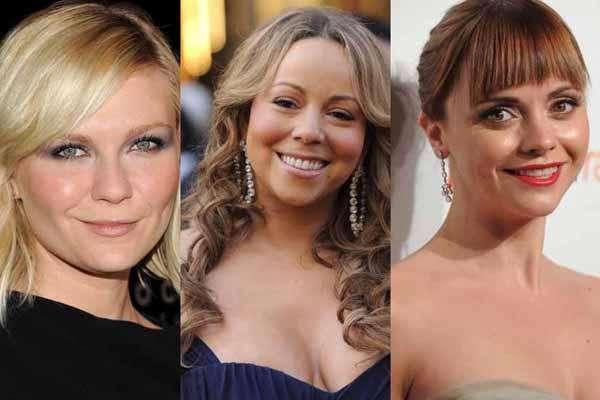 Si crees que las celebridades son perfectamente hermosas te equivocas. En este caso, ellas utilizan diversos trucos de maquillaje para estilizar sus redondos rostros.