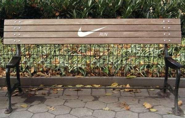 ¿Cuál es la mejor forma para motivar a una persona a correr? Para la creativa Annie Chiu es quitar el asiento de las bancas, así no tendrán un momento de descanso. Se trata de un mensaje muy directo, aunque para las personas que busquen descanso puede ser un tanto molesto.