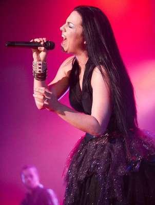 Amy Lee logró que el público recordara los éxitos de la banda que ella fundó en 1995.