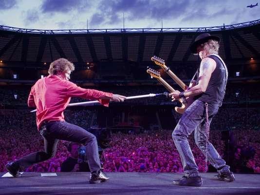 Bon Jovi fue la banda inicial en la serie de conciertos que el canal BBC HD transmitirá en alta definición.