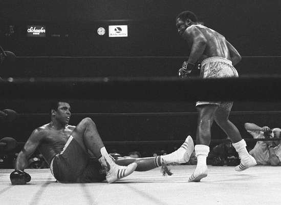 La rivalidad más grande de todas es la de las leyendas estadounidenses Joe Frazier y Muhammad Ali.