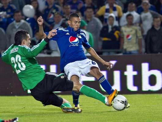 En febrero del presente año Millonarios y Atlético Nacional jugaron en Bogotá por la cuarta fecha de la Liga Postobón I.