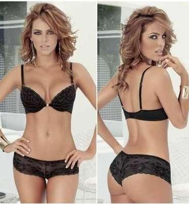 Sara corrales despampanante para marca de ropa interior for Ropa interior marcas