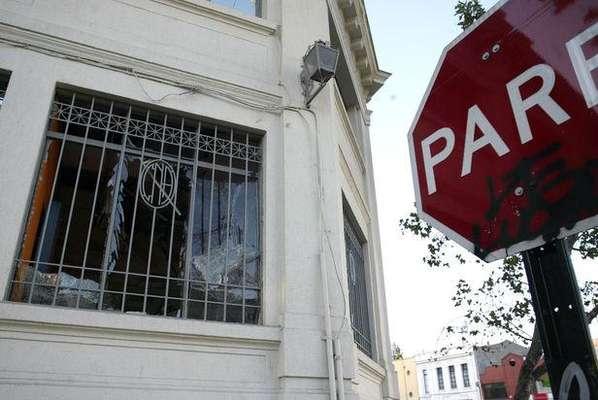 Dos ataques explosivos en cajeros autom ticos en nu oa for Cajeros automaticos banco santander