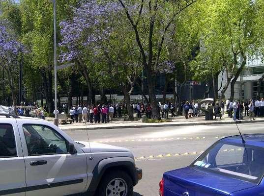 Se registró un sismo de 7.8 grados en la escala de Richter en la Ciudad de México.