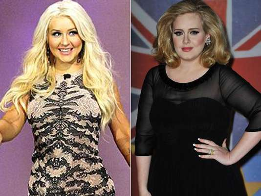 Las cantantes Adele y Christina Aguilera tienen algo en común: una extraordinaria voz y ser el blanco de criticas por su sobrepeso. Las dos han manifestado en diferentes medios que se sienten a gusto con su cuerpo, sin embargo últimamente se les ha visto luciendo con unos kilos de menos. ¡Mira cómo lucen ahora!