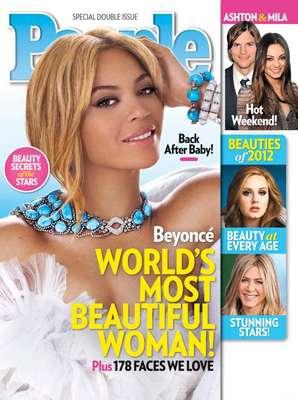 Como cada año, la revista People da a conocer a las mujeres más bellas del mundo y el lugar de honor lo ocupa Beyoncé.