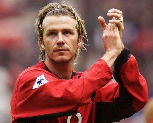 David Robert Joseph Beckham.- nació el 2 de mayo en Leytonstone, Londres Inglaterra. Inició su carrera futbolistica en el Manchester United.