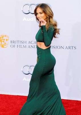 Jennifer Lopez, en los BAFTA ingleses.