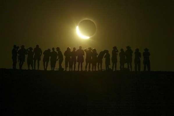 La Nasa proporciona los horarios que será visible el eclipse así como su punto máximo. A continuación te damos el horario del DF, Monterrey, Guadalajara, Veracruz y Puebla