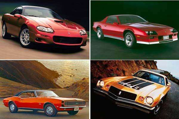 Fotos Historia del Chevrolet Camaro