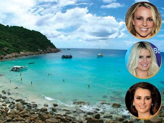 Turtle Island, Fiji - A paradisíaca Turtle Island, no arquipélago das Fiji, conta com um exclusivo resort onde os famosos podem relaxar sem se preocupar com fãs ou fotógrafos. Britney Spears, Jessica Simpson e Charlize Theron já escolheram o a ilha para curtir praias paradisíacas e muito calmas