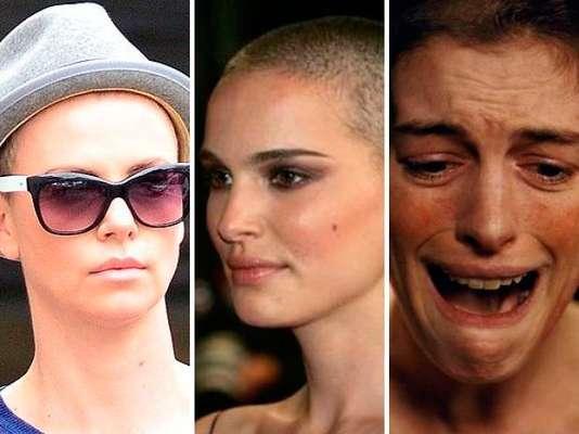 Varias estrellas de Hollywood han demostrado su profesionalismo al despojarse de sus hermosas cabelleras para interpretar un personaje ¿Hot o No?