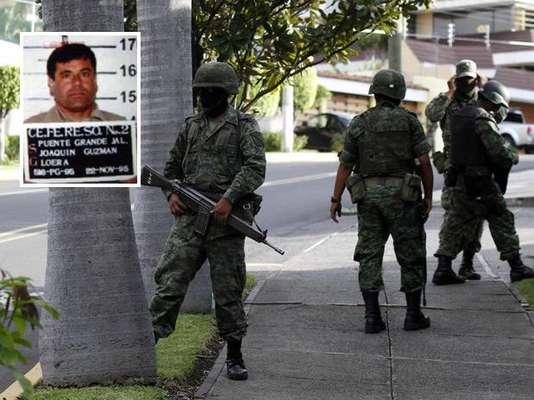 """El narcotraficante más buscado por el gobierno de México, Joaquín """"El Chapo"""" Guzmán, fue detenido en Mazatlán, Sinaloa, según informes de la agencia de noticias AP."""