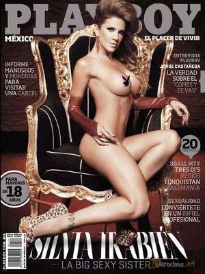 Silvia Irabien 'La Chiva' fue portada de la edición de abril de la famosa revista del 'conejito'.