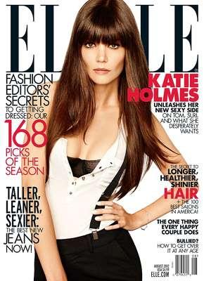 """Com mais de 30 anos, Kate Holmes afirmou à Elle Americana estar segura sobre todas as questões de sua vida. """"Eu definitivamente me sinto muito confortável sobre ser quem eu sou. Eu me sinto mais sexy. Acho que quando você tem vinte e poucos, você fica o tempo todo tentando entender sobre tudo da vida"""", disse"""