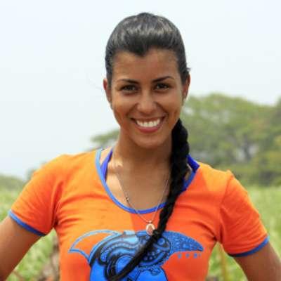 Rosa Paola Caifa es una de las participantes del reality 'Desafío 2012, el fin del mundo', en donde integra la región de los costeños. La participante ha demostrado un gran estado físico y en cada capítulo se evidencia la belleza de esta mujer barranquillera.