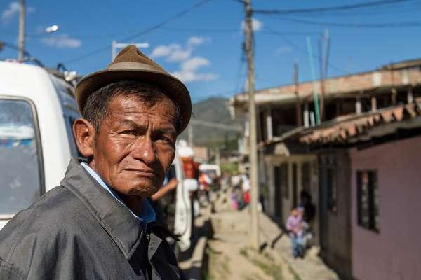 Las diferentes comunidades indígenas del norte del Cauca se reunieron en Toribío para realizar una samblea en la que se decidió y aplicó el castigo a cuatro integrantes de la comunidad, entre los que se encontraba un menor de edad, por ser integrantes de las Farc.