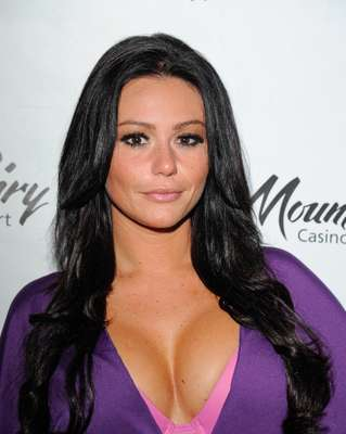 WOW! Now we know why they call her JWoww! Her breasts are more wild than the whole season of 'JWoww & Snooki.' The reality star took all her Jersey-liciousness to Pennsylvania for an event aptly called, 'A Night With JWoww.' The 'Jersey Shore' girl was joined by her inseparable, Roger. What do you think of Jenni's outfit and look?