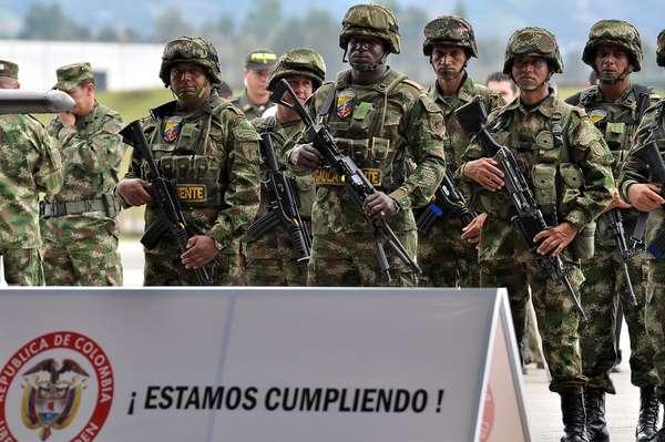 Según el balance de gestión entregado por el Ministerio de Defensa de los cerca de 1.100 municipios que hay en Colombia 1.085 registran indicadores positivos en materia de seguridad al cumplirse los dos primeros años de gobierno del presidente Juan Manuel Santos.