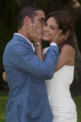 Azteca Novelas reunió a los medios de comunicación para dar el claquetazo inicial de la grabación de su nueva telenovela 'Los Rey'.
