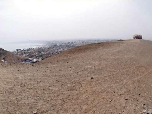 Desde lo alto del Morro Solar, y teniendo al mar como fondo, Bareto siguió con su recorrido en la 4Track Combi