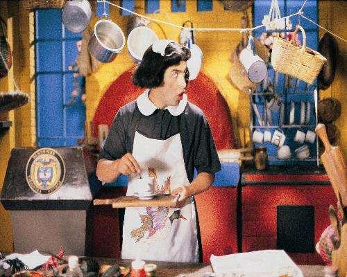 Jaime Garzón, el humorista político más querido y recordado de la historia del país, creó un séquito de personajes con los que explicaba de manera irónica la difícil realidad del país. Dioselina Tibaná, la cocinera del Palacio.