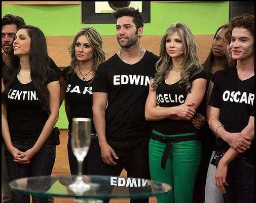 Edwin Garrido participante del reality Protagonistas de Nuestra Tele, es uno de los concursantes con mejor cuerpo de la casa estudio.