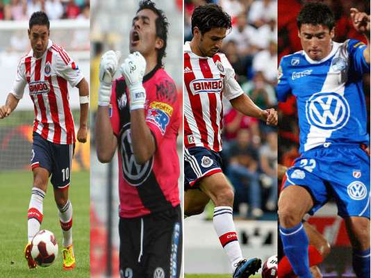 Any of these players, in their respective positions, could make the difference in the match between Chivas and Puebla.