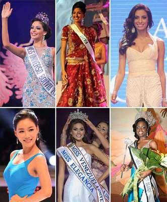 Ellas son las mujeres que hasta el momento han ganado el honor de representar a sus paises en le certamen internacional de Miss Universo que tendrá lugar en 2013