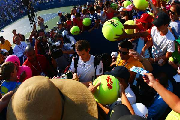 The U.S. Open is the most open of the Grand Slam tournaments each year. One good example is Olympic champion Andy Murray, one of the most popular players amongst fans.