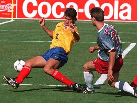Andrés Escobar participó por última vez con la Selección Colombia de mayores en el Mundial USA 94, antes de su asesinato el 2 de julio de 1994 a las afuera de Medellín.