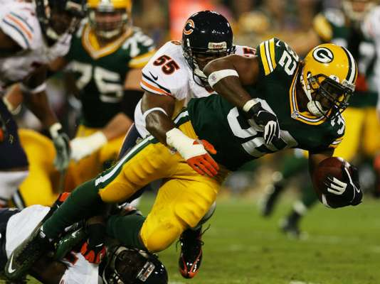 Green Bay Packers y Chicago Bears abrieron la semana 2 de la NFL en el Lambeau Field.