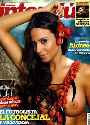 Begoña alonso protagoniza la portada de la revista Interviú