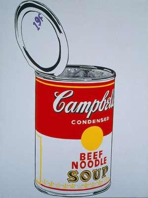 'Big Campbell's Soup Can' - La obra forma parte de una exposición que reúne algunas de las obras más características de Andy Warhol en el museo Metropolitan de Nueva York. Contemplando a Warhol: Sesenta artistas, cincuenta años, pone en relieve el impacto del artista en el arte del último medio siglo gracias a 150 obras, un tercio de ellas realizadas por el propio Warhol (1928-1987) y el otro centenar por artistas de tres generaciones.