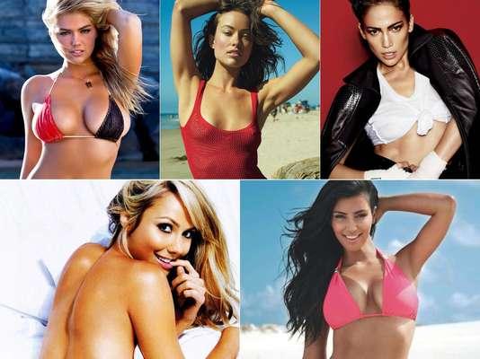 El sitio de espectáculos Celebuzz enlistó a 101 celebridades que lucen ardientes en bikini, descubre quiénes ocupan las primeras veinte posiciones del ranking y deléitate con sus candentes atributos físicos.