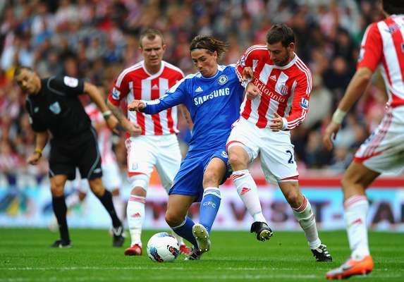 22 de septiembre - Chelsea se mide en Stamford Bridge al Stoke City en duelo de la Liga Premier