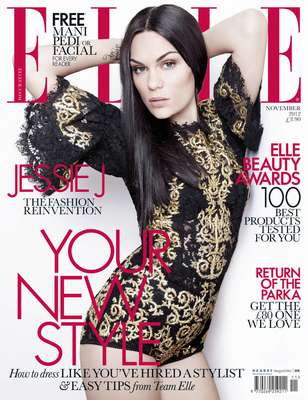 "British singer Jessie J is featured on the latest cover of ELLE magazine fully transformed from the Jessie J we met with her debut ""Who You Are."" The singer says she wanted to be more feminine. Ms. J is currently in LA recording her second album which she promises will be more 'eclectic' than her debut and we can only guess her new found femininity will influence her new work. See more pictures from the magazine and pictures of Jessie J signing copies of her book ""Nice To Meet You"" last week ahead."