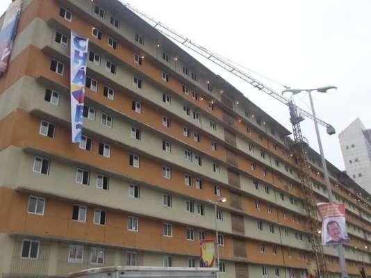"""Las unidades habitacionales del """"Gran Misión Vivienda"""" son uno de los grandes triunfos de Chávez en la disputa presidencial."""