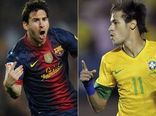 Los delanteros Lionel Messi y Neymar son los mayores goleadores en competiciones internacionales en 2012 , sumando juegos de clubes y selecciones, de acuerdo con la Federación Internacional de Historia y Estadística del Fútbol (IFFHS); vea la lista completa