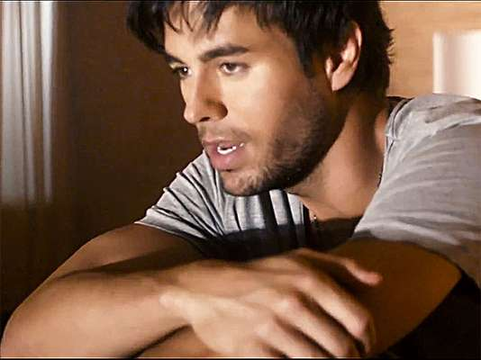 "Enrique Iglesias is on a quest to find his long lost love in the video for the single ""Finally Found You"" and as per usual, where do you think he found her?"