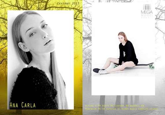 Ana Carla, de 18 anos, é de Nova Trento, Santa Catarina. É agenciada pela Mega Model