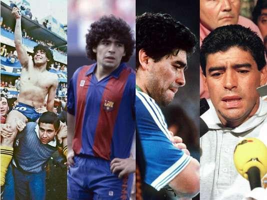 Te presentamos los aspectos más relevantes en la trayectoria de uno de los mejores futbolistas de la historia, que fue de la tierra al cielo, y luego al infierno.